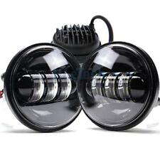 "4.5Inch LED Passing Lights Black Fog Spot lamp for Harley Davidson 4-1/2"""