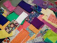 Remnant fabric lot-97 pcs   (code 49)