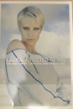 CD PROMO PRESS KIT EUROVISION FINLAND 2002 FINLANDIA LAURA ADDICTED TO YOU