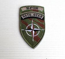 ECUSSON / BADGE / PATCH   KFOR NATO OTAN KOSOVO LEGION / ARMEE FRANCAISE