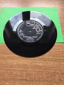 "The Supremes - Automatically Sunshine 7"" Vinyl Single 1972"