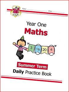 KS1 Maths Daily Practice Book: Year 1 - Summer Term CGP KS1 Maths
