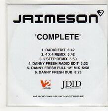 (FF745) Jaimeson, Complete - DJ CD