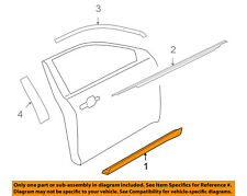 FORD OEM 10-18 Taurus Front Door-Side Molding Right AG1Z5420878AA