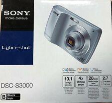 Sony DSC-S3000 Cyber-Shot, 10.1 MP, Black