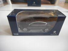Norev Peugeot 508 in Black on 1:64 in Box