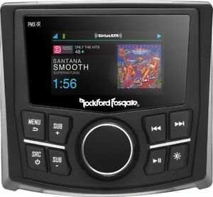 "ROCKFORD PMX1R 2.7"" SCREEN MARINE REMOTE SELECT PMX RECEIVERS  2 YEARS WARRANTY"