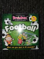 BrainBox Game Football Card Memory Family Game BNWT NEW