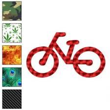 Bicicleta Bici símbolo Decal Sticker Elegir patrón + Talla #2351