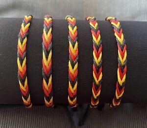 Aboriginal / Koori  🖤💛❤️ Adjustable Bracelet Aboriginal Pride, BLM, Au Seller