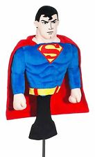 Superman Golf Driver Headcover 460cc Movie Character DC Comics Collectible Gift