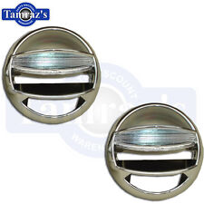 66 67 68 69 Chevelle Malibu Dash Chrome Vent Balls 1969