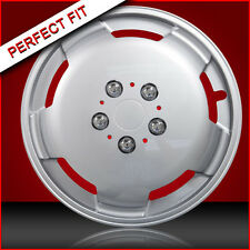 """15"""" Silver Domed Wheel Trims Auto Sleeper Mercedes Sprinter Chassis Motorhome"""