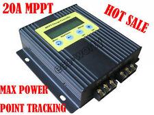 ECO 20A 12V/24V MPPT Solar Charge Controller Solar Regulator Save More Energy