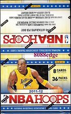 2011/12 Panini NBA Hoops Basketball Hobby Box. .