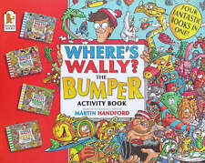 WHERE'S WALLY? THE BUMPER ACTIVITY BOOK 4 BOOKS IN 1 BY MARTIN HANDFORD