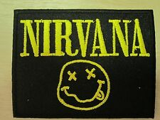 Nirvana embroidered Iron on Patch High Quality Shirt