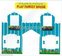 FISHER-PRICE #952 HOUSE FRONT REPLACEMENT LITHO STICKER DECAL Little People