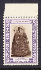 """GB   1937 Coronation """"Purple"""" - Elizabeth Queen Mint"""