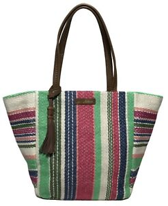 NWT Tommy Bahama Woman's Tote, Multicolored - MSRP: $118.00