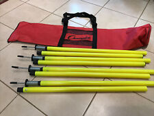 Champion Sports Outdoor Agility Pole Set  NEW Other