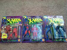 toybiz XMEN XFORCE juggernaut magneto apocolyps (SET OF 3) marvel spiderman hulk