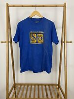 VTG 80s Hanes Beefy-T The Santa Fe Opera Blue Short Sleeve T-Shirt Size L USA
