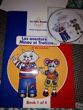 La Jolie ronde -les aventures Minou et Trottine- activity book+cd
