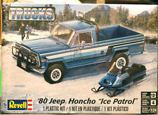 1980 Jeep Honcho Ice Patrol 1:24 Revell 7224 wieder neu 2018