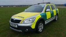 AMBULANCE RRV SKODA OCTAVIA SCOUT CHOICE OF 2 AUTOMATIC 4X4 2012