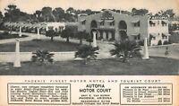Postcard Autopia Motor Court in Phoenix, Arizona~121216