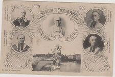CARTE POSTALE RELIGIEUSE SOUVENIR DU COURONNEMENT DE N.DAME DE GRAY-1620-1909