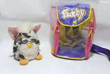 Original Furby 1998 Model With Genuine Furby Backpack Bag. Tiger Electronics