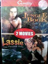 Jungle Book/Lassie: The Painted Hills (DVD, 2006) Sabu, Lassie WORLDWIDE SHIP AV