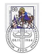 BRD 1984: Heiliger Martin! Weihnachtsmarke Nr. 1233 mit Bonner Stempel! 1A! 156
