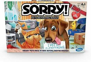 SORRY PETS BEHAVING BADLY BOARD GAME
