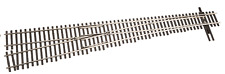 Walthers Shinohara code 83  #8 Left  Hand   turnout (switch) HO scale