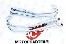 Honda CB 750 Four K2-K6 OEM 4-4 Auspuffanlage Auspuff Chrom Repro HM341