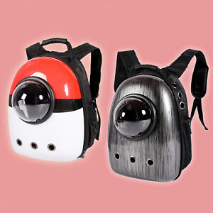 Cat Backpack Carrier Bubble Bag Small Dog Backpack Space Capsule Travel Carrier