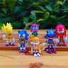 """New 6pcs Sonic The Hedgehog Characters PVC 2.2"""" Action Figures Doll Set"""