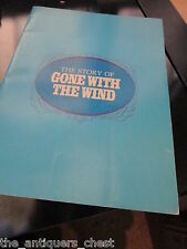 1967 THE STORY of GONE WITH THE WIND by Bob Thomas, souvenir book