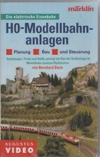 """VHS VIDEO FILM Märklin """"modello h0 impianti ferroviari-pianificazione, costruzione e controllo"""" #0276"""