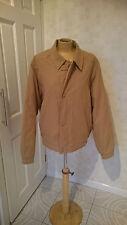 Mens Rainman London Rain Man Tartan Lined Jacket Coat Size S Mustard H1