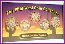 The WIld West 5 Coin Collection: 1930's Buffalo Nickels