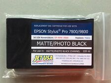 Eclipse Replacement 220ml Inkjet Cartridge Photo Black for Epson 7800/9800