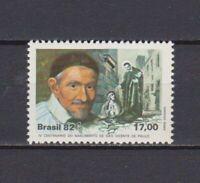 s19059) BRASILE BRAZIL  MNH** Nuovo** 1982 Holy Vincent de Paul 1v