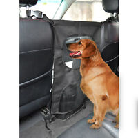 Universal Travel Mesh Car Front Seat Dog Barrier Protector SUV Van Safety Guard