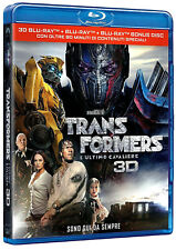 TRANSFORMERS 5: L'ULTIMO CAVALIERE 3D (3 BLU-RAY 3D + 2D + EXTRA) Mark Wahlberg
