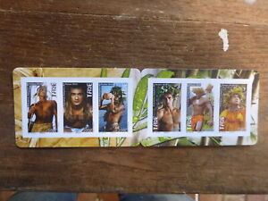 FRENCH POLYNESIA 2016 TANE- GOD OF FERTILITY BOOKLET 6 MINT STAMPS