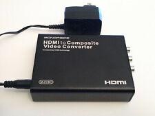 NEW Monoprice MLKV381 HDMI to Composite Video Converter RCA PAL NTSC